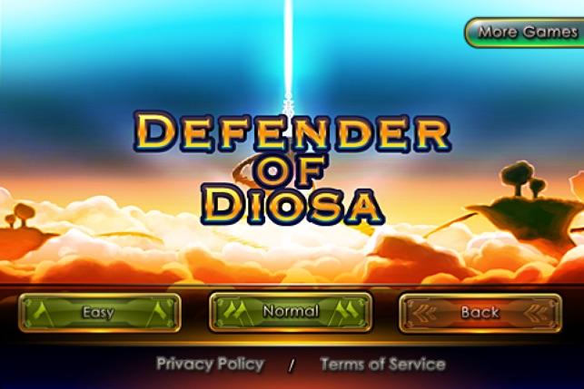 Defender of Diosa Screenshot