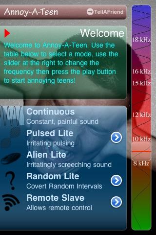 Annoy-A-Teen Lite