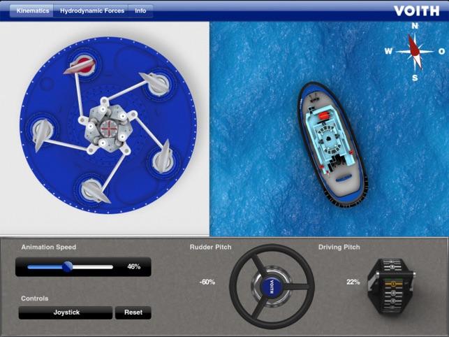 Voith iVSP HD - Interactive Voith Schneider Pro    on the
