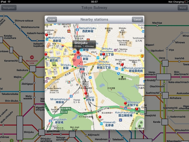 Tokyo Subway for iPad screenshot-4