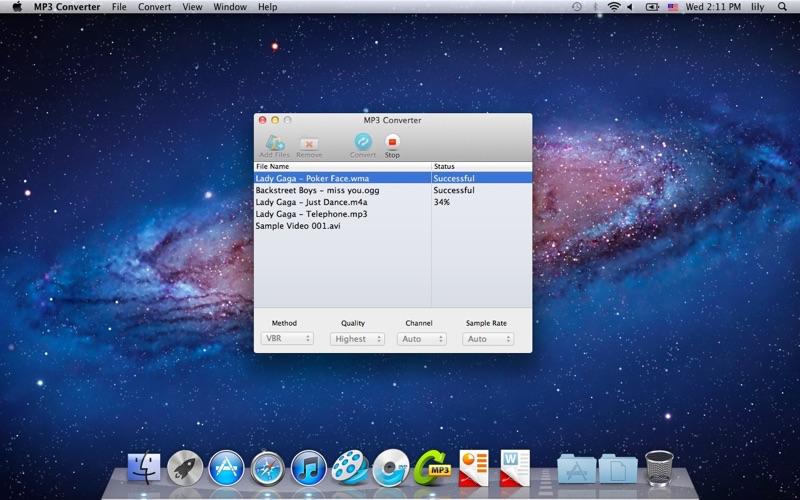 MP3-Converter Screenshot