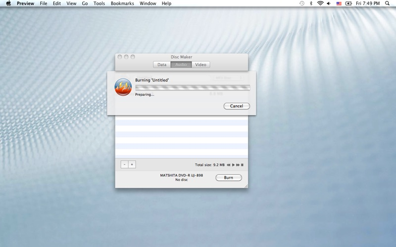 DiscMaker Screenshot