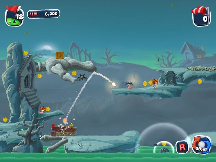 Worms Crazy Golf HD screenshot-3