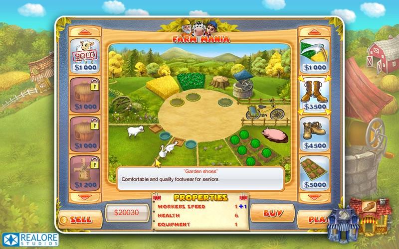 Screenshot #3 pour Farm Mania