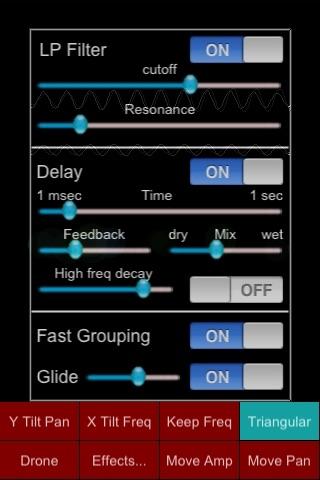 Junglinge Synth screenshot three
