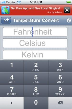 Temperature Convert On The App Store