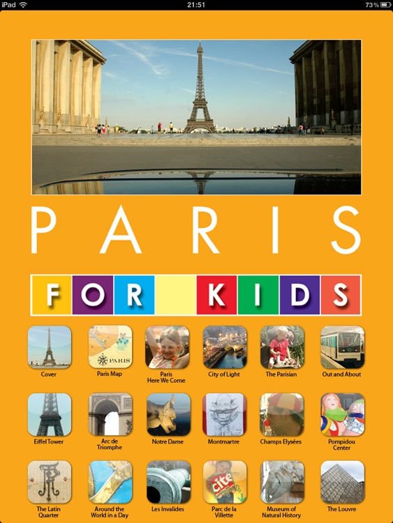 Paris for Kids for iPad