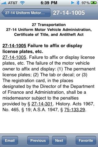 Arkansas Code of 1987 ARCode09