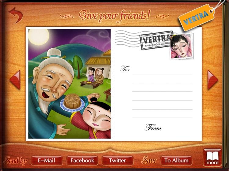 Finger Books-The Legend of Chang'e HD screenshot-3