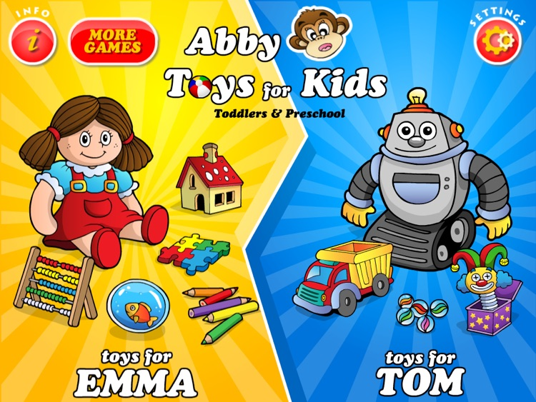 Abby Toys Games For Kids Hd Free By 22learn Llc