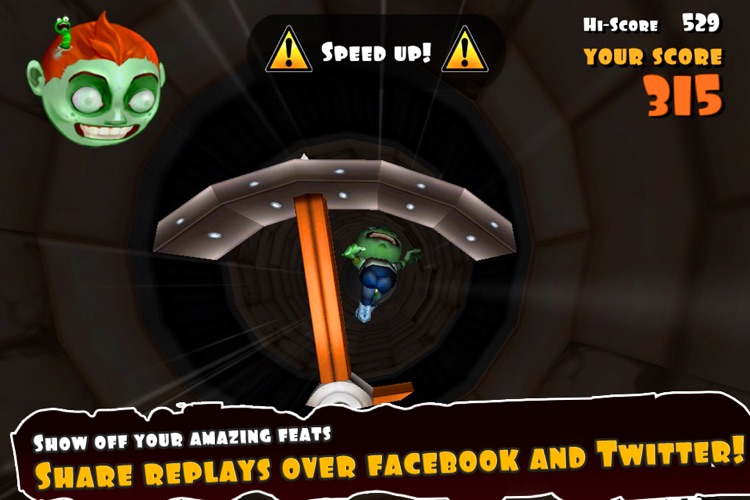 Falling Fred Z screenshot-4