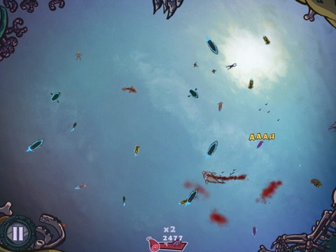Screenshot #4 pour Shark or Die