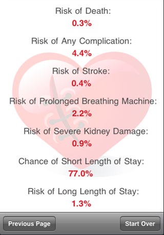 Heart Surgery Risk screenshot-4