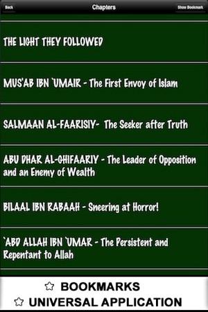 Life of 60 Sahaba - ( Islam Quran Hadith - Ramadan Islamic Apps ) on