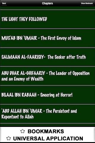Life of 60 Sahaba - ( Islam Quran Hadith - Ramadan Islamic Apps ) screenshot-3