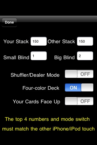 Headsup Poker 3G Free (Holdem Blackjack Omaha) screenshot-1