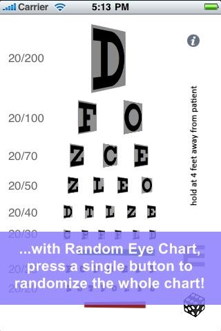 Random Eye Chart Generator By Dok Llc