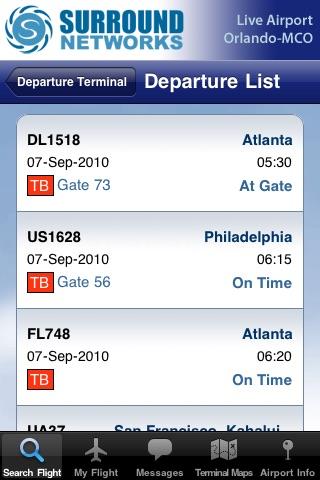 Live Airport - Orlando (MCO Airport) Lite screenshot-3