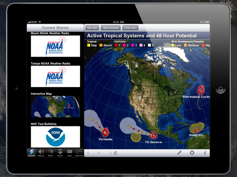 NOAA Hurricane Center HD screenshot 2