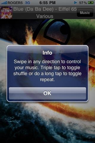 Swipe Control HD