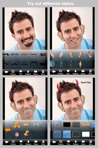 Camera ClickMe Free: Self Portrait using face detection