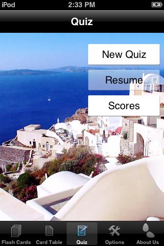 Greek Alphabet Cards screenshot three