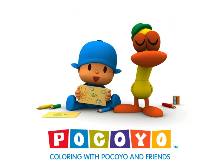 Coloring with Pocoyo and Friends by Zinkia Entertainment, S.A.