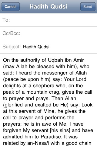 40 Hadith Qudsi screenshot-3