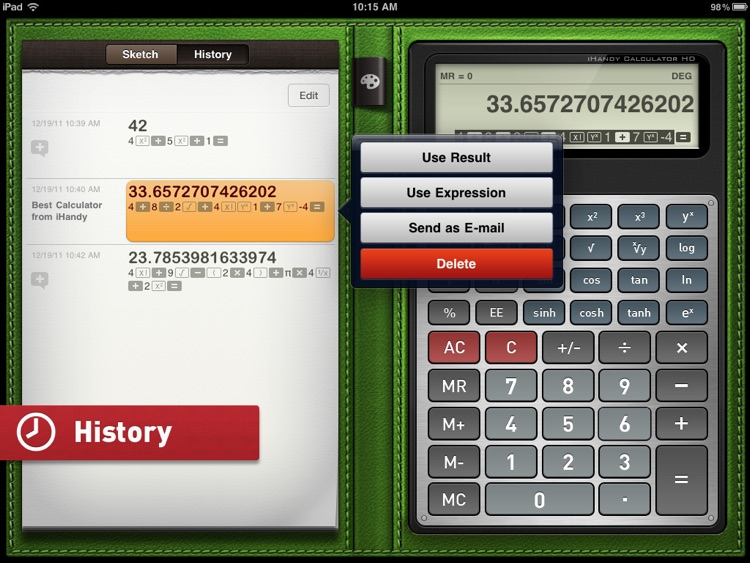 iHandy Calculator HD Pro screenshot-3