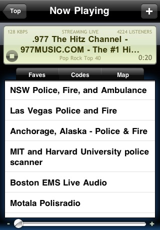 Radio Scanner (Live police & music stations)