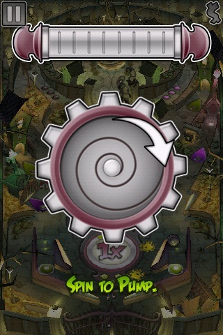 Undead Attack! Pinball Lite screenshot two