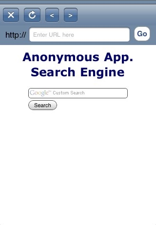 Anonymous Web Browser with Blackout