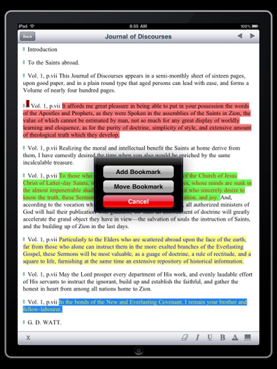 LDS Journal of Discourses for iPad