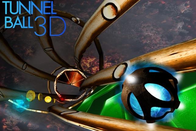 Tunnel Ball 3D Screenshot