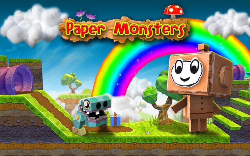 PaperMonsters Screenshot