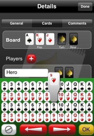 Poker Notebook screenshot four