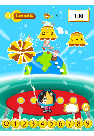 Hamster Math 乘除救地球 screenshot four