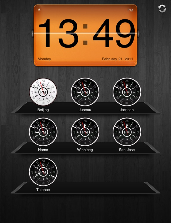 World Clock for iPad Lite
