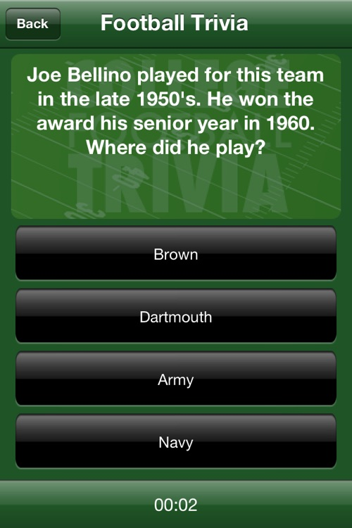 College Football Trivia and More screenshot-1