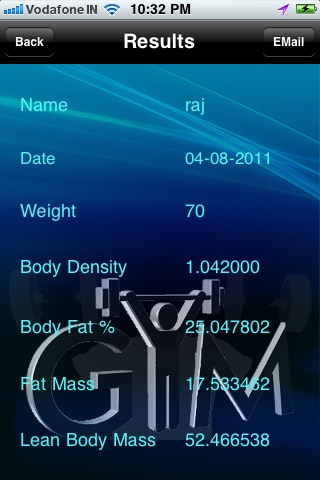 Find Bodyfat % -  Professional Calculator screenshot-3