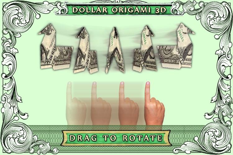 Dollar Origami. screenshot-3