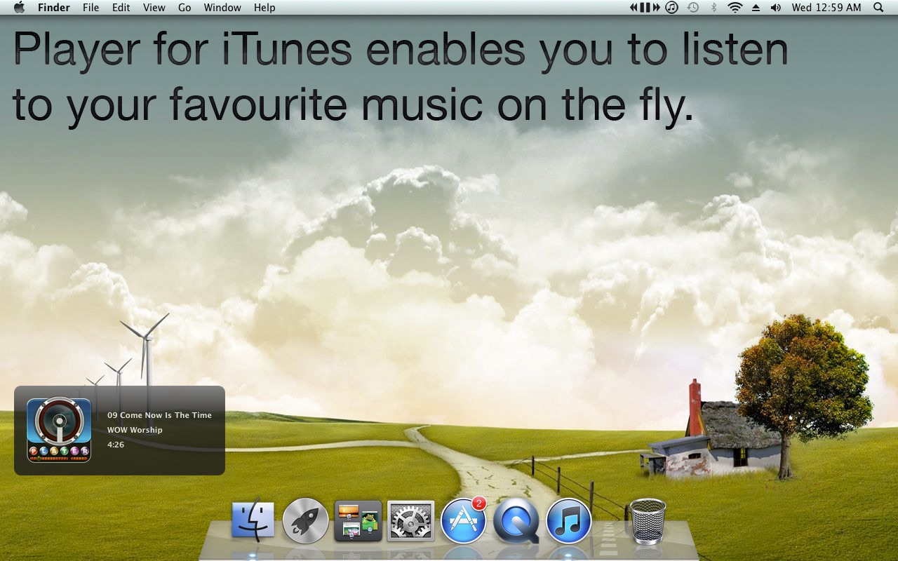 Player for iTunes on the MacAppStore