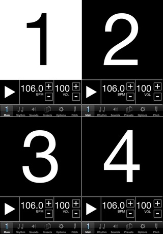 Visual Metronome