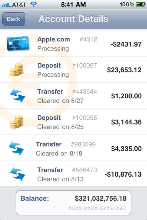 Fake Bank Free screenshot-4