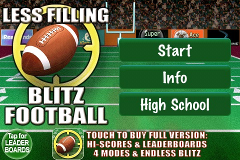 Blitz Football Pro FREE screenshot-0