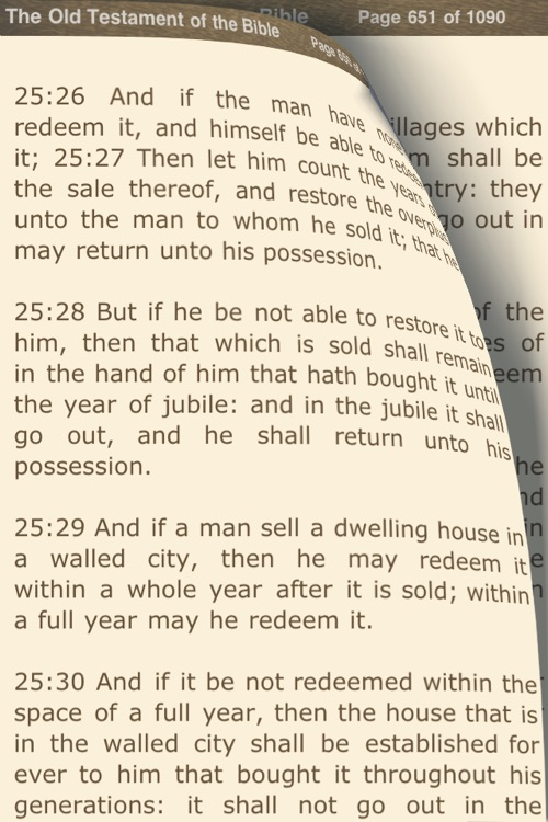 The Bible: Old Testament (DocuApps) screenshot-1