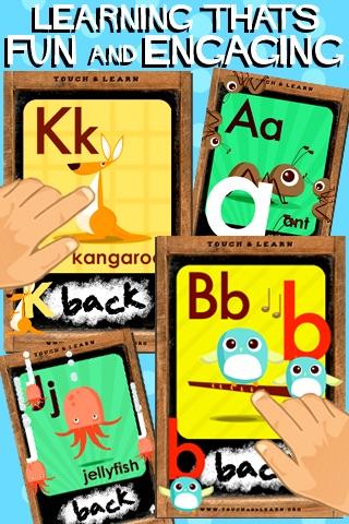 Pocket abc Lite - Letters & Sounds screenshot-3