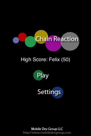 Chain Reaction Free screenshot three