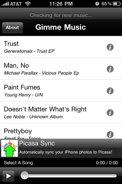 Gimme Music - Music Discovery Tool screenshot-3