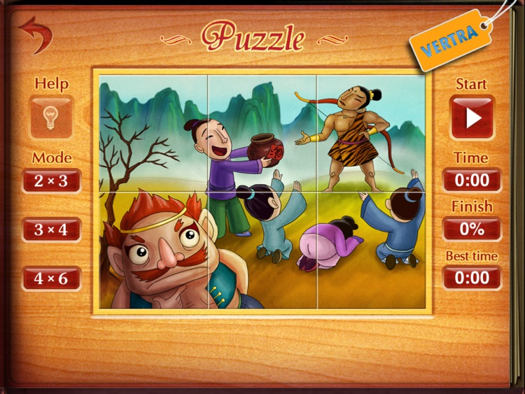 Finger Books-The Legend of Chang'e HD screenshot-4